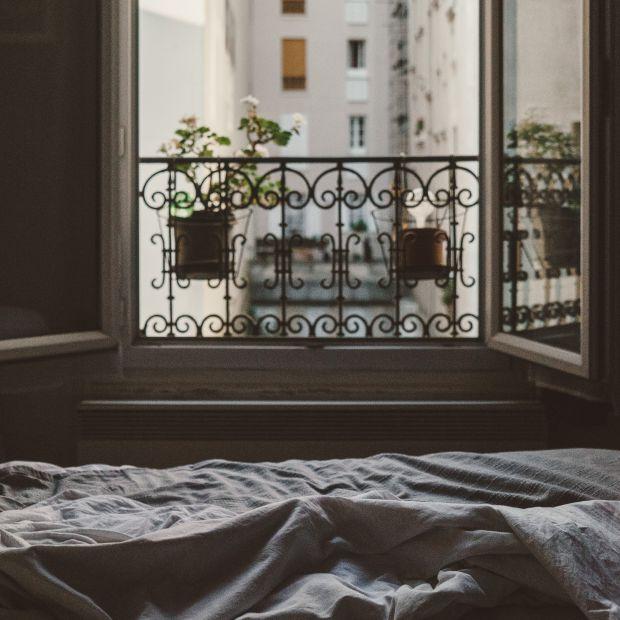 дом, спалня, прозорец