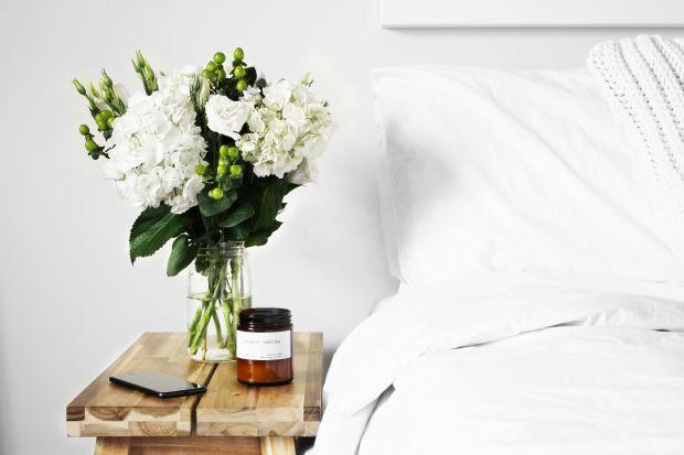 цветя, спалня