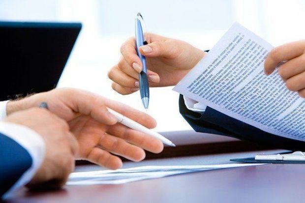 договор, подписване, химикал, лист