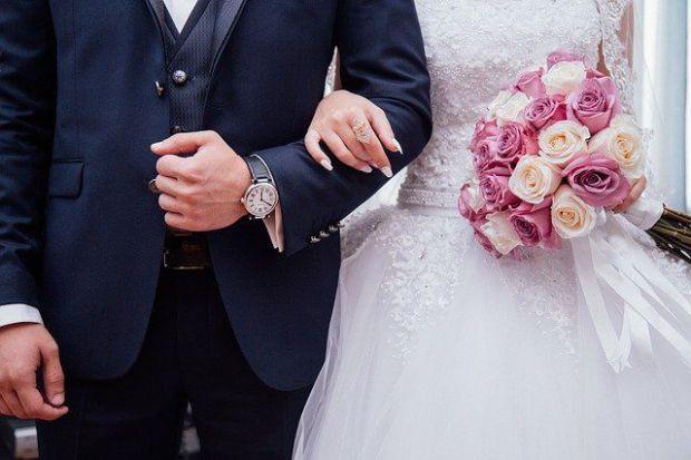 сватба, късмет, брак, булка, младоженец