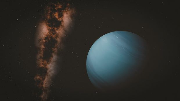 Нептун, планета, галактика, космос