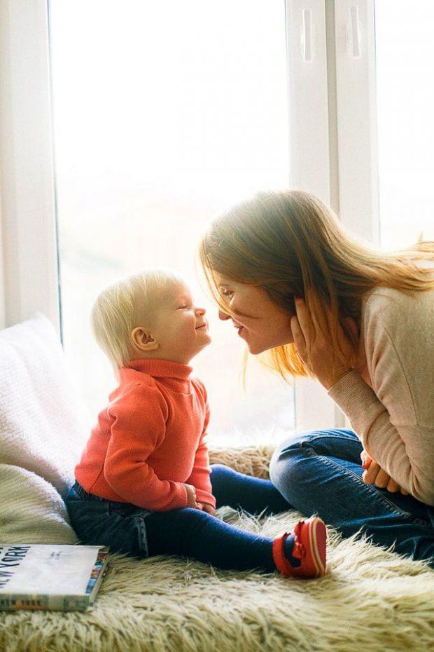 семейство, опора, сигурост, мама, бебе