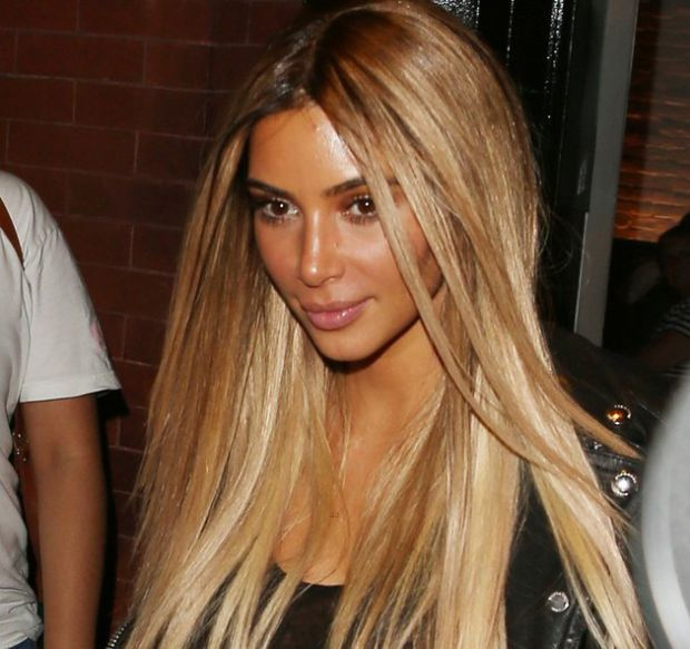 khloe kardashian hair 2014 ombre