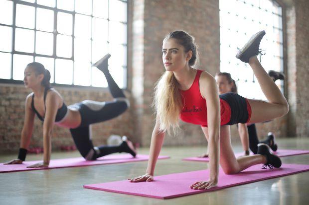 фитнес, тренировка