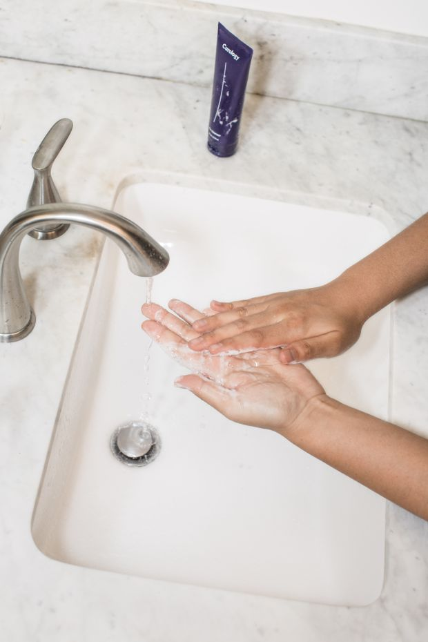 миене на ръце