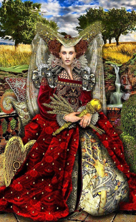 императрицата, жена, сила, успех, домакиня, бизнес дама