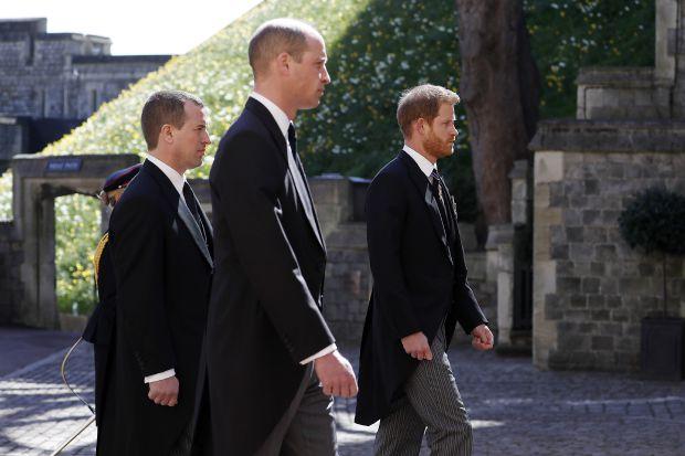 принц Уилям, принц Хари