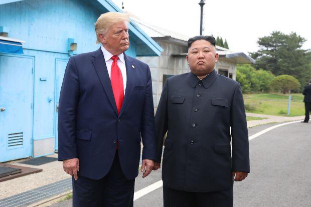 Доналд Тръмп, Ким Чен-ун