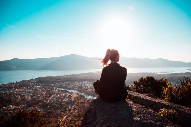 уединение, медитация, мисли, чувства