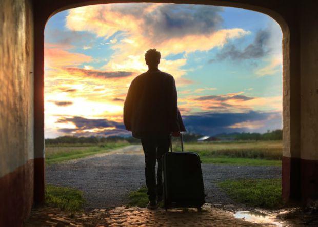куфар, пътуване, близнаци, лято, 2020-та година
