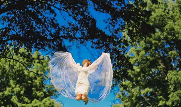 ангел, небе, гора, зодия дева, услужливи, грижовни