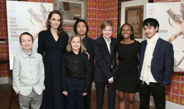 Анджелина Джоли, деца
