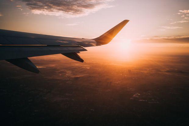 пътуване, преместване, релокация, самолет, крило
