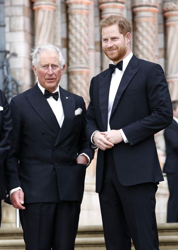 принц Чарлз, принц Хари