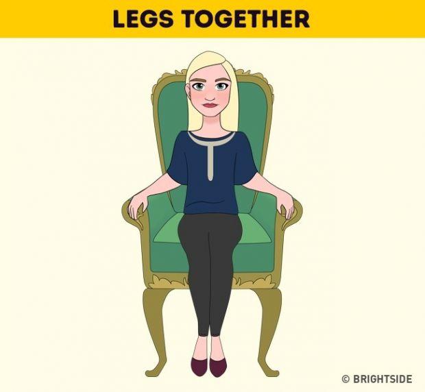 Кажете ни как седите, за да ви кажем какви сте