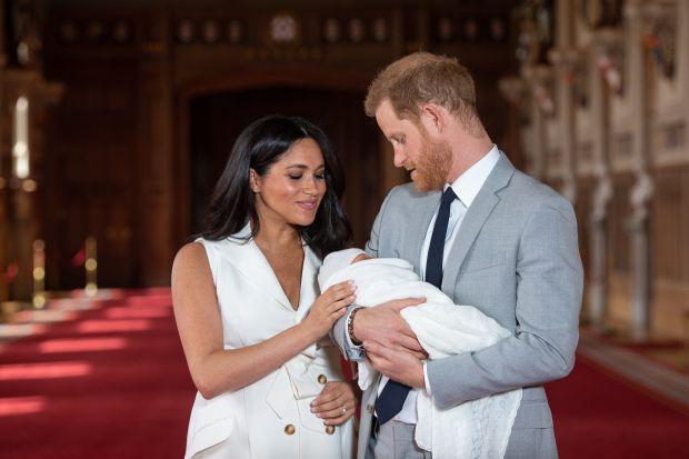 prince harry, meghan markle, archie, royal family