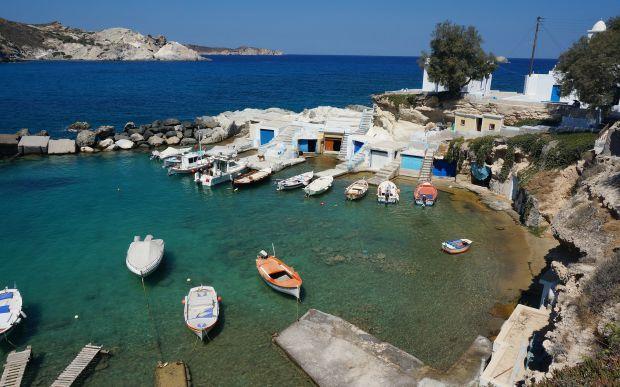 milos, greece, travel