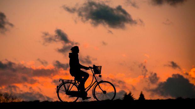 карането на колело не е за болните от остеопороза