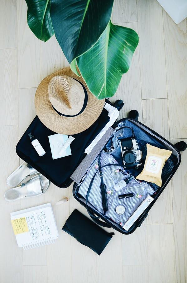 куфар, почивка