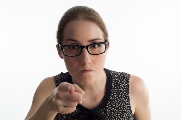 гневна жена