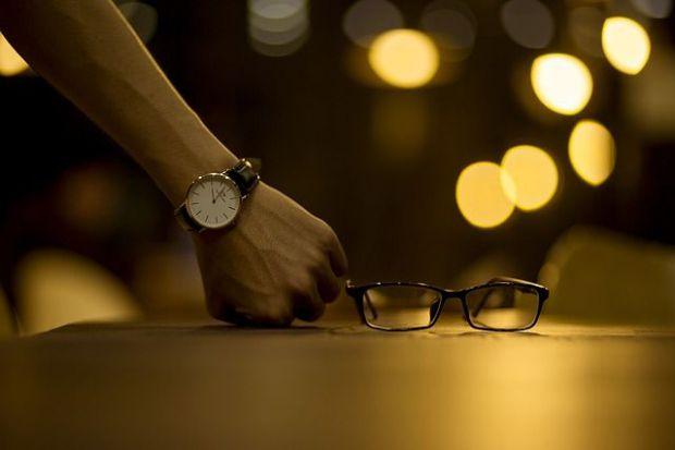 търпение, часовник, очила, чакане, време