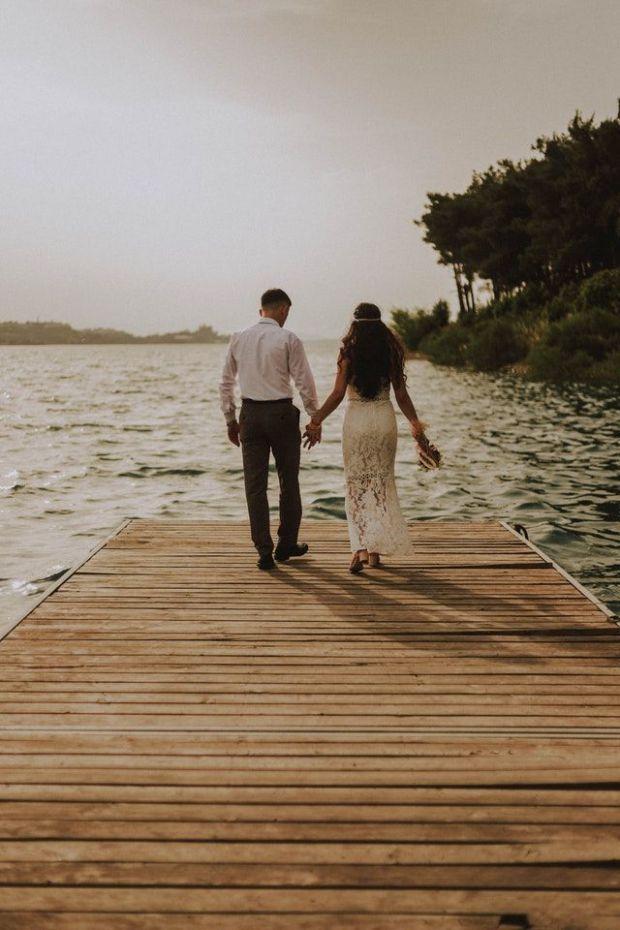 сватба, двама, завинаги, заедно, младоженец, булка