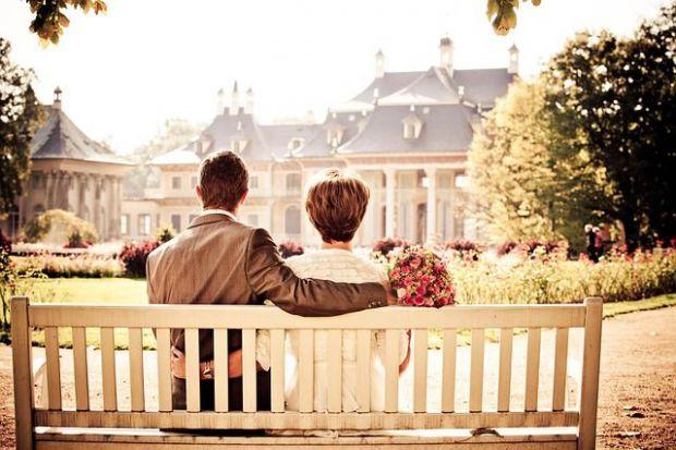 щастие, двойка, брак