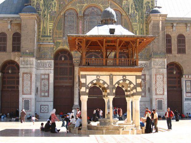 Омеядска джамия, Дамаск