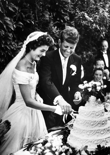 Джон Кенеди, Джаки Кенеди, сватба