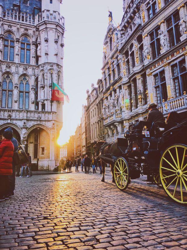Брюксел, пътешествия