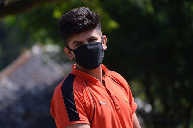 маска мръсен въздух