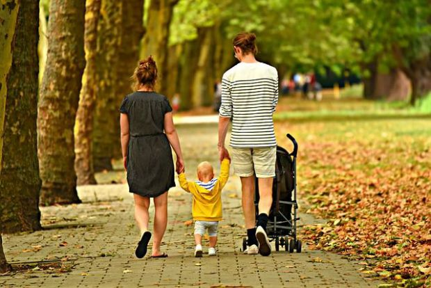 семейство, грижа, внимание, време