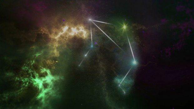 съзвездие, везни, венера, вселена, млечен път