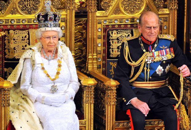 кралица елизабет втора, кралското семейство