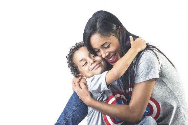 майка, дете, внимание, връзка, обич