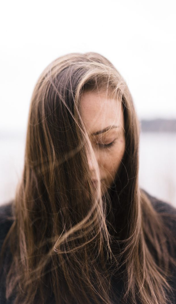 жена, жена с кафява коса