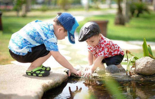 деца, игра, комуникация