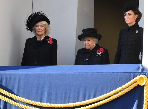камила, кралица елизабет втора, кейт мидълтън, британското кралско семейство