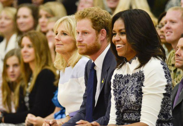 Джил Байдън, принц Хари, Мишел Обама