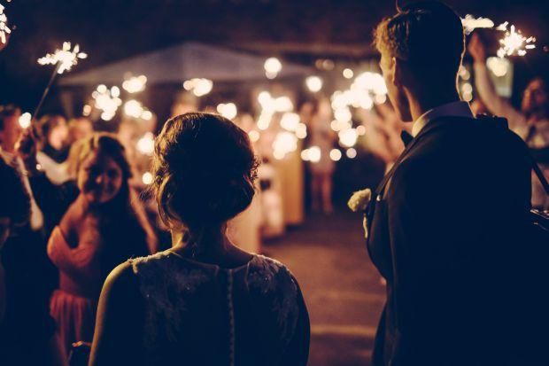 двойка, сватба, любов