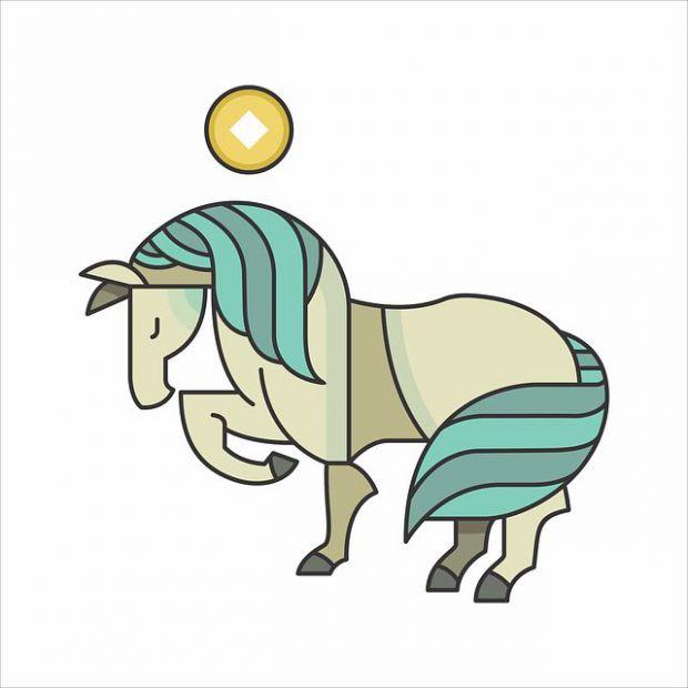 кон, китайски хороскоп