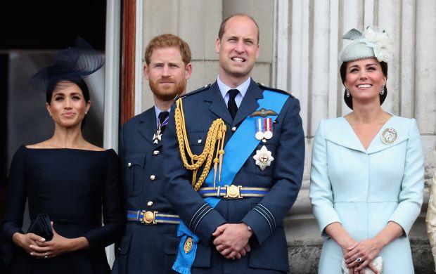 меган маркъл, кейт мидълтън, принц уилям, принц хари