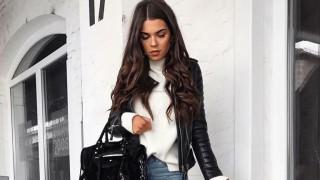 Рокерско кожено яке - идеалната дреха за пролетта