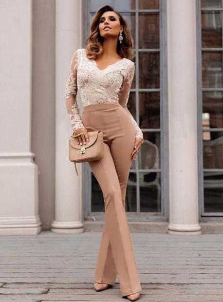Стилен дълъг панталон