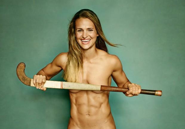 Най-добрите спортисти без дрехи!