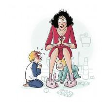 Забавни илюстрации, които всяка майка ще разбере