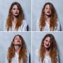 Женското лице преди, по време и след оргазъм