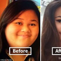 Как отслабването променя лицето?