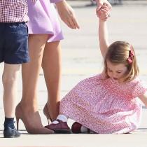 Ще се влюбите в нея! Принцеса Шарлот на 3 години