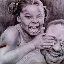 11-годишно дете чудо от Нигерия изуми света с рисунките си